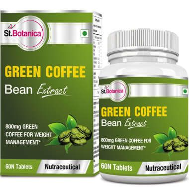St.botanica Green Coffee Bean Extract 800mg Tablet