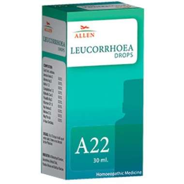 A22 Leucorrhoea Drop