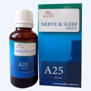 A25 Nerve And Sleep Drop