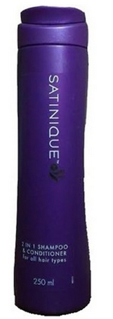 Amway Satinique 2 In 1 Shampoo And Conditioner - 250ml