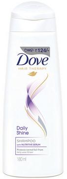 Dove Daily Shine Shampoo 180ml