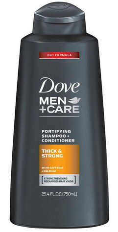 Dove Shampoo + Conditioner Ml