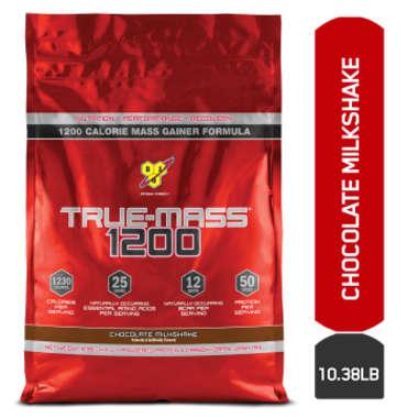 Bsn True-mass 1200 Powder Chocolate Milkshake