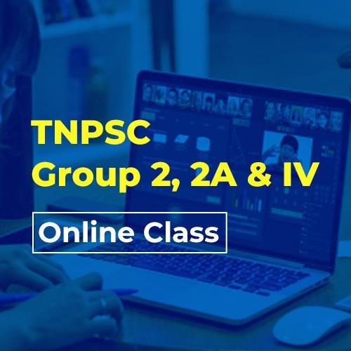 TNPSC Group 2 & 2A online class