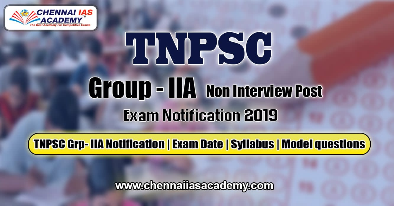 tnpsc-group-2a-prelim-notification-2019
