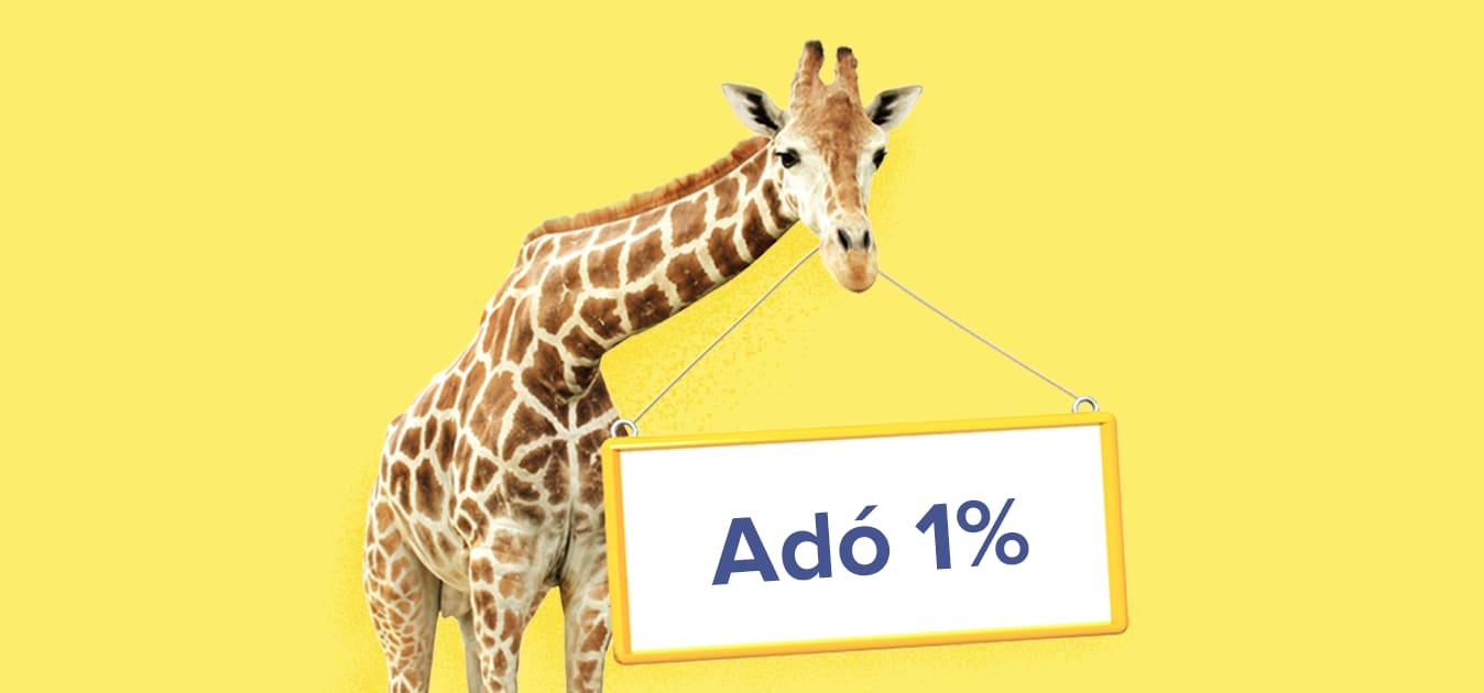 Ne feledkezz meg az adód 1%-áról! 🧚🏼✨
