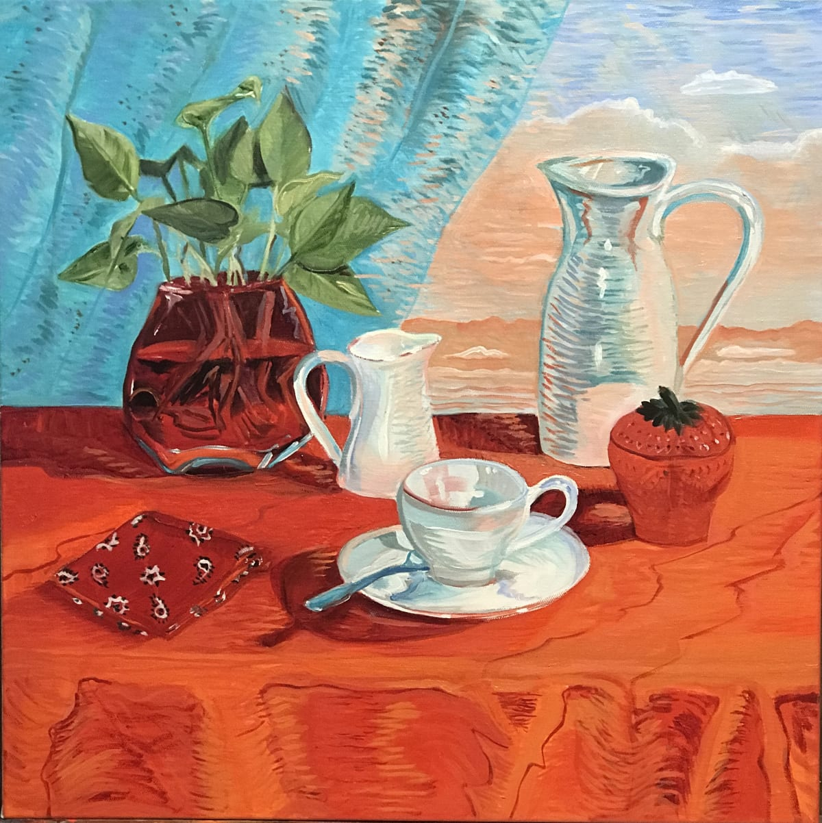 Tea with Cream and Sugar