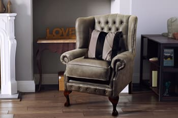 Chesterfield Chairs & Footstool | Chesterfield Couture