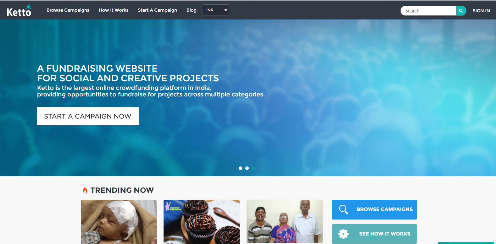 best crowdfunding websites