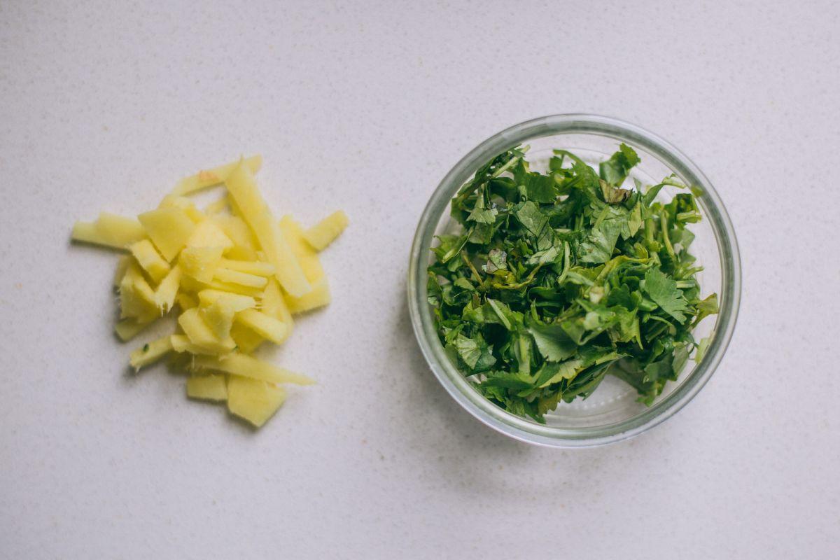 Asian Broad Bean & Broccoli Salad