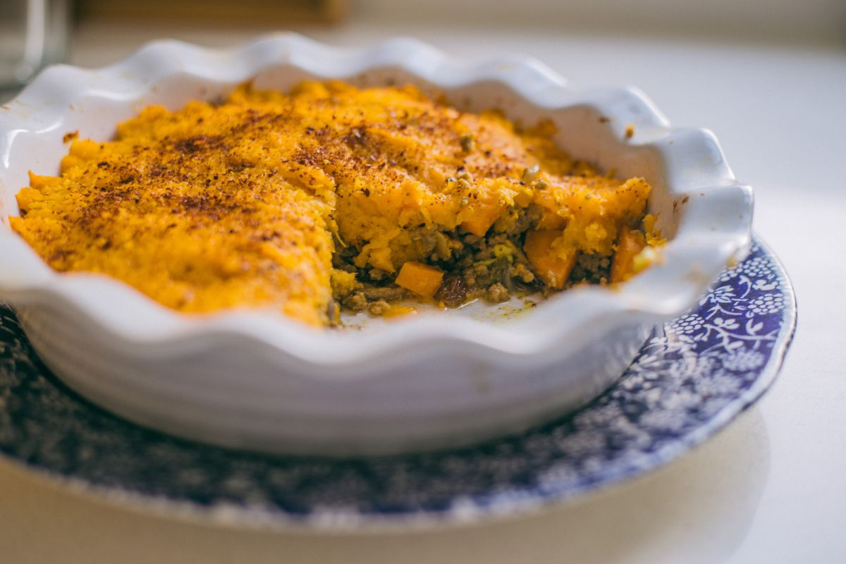 Indian Spiced Shepherd's Pie: Whole30 Approved Recipe