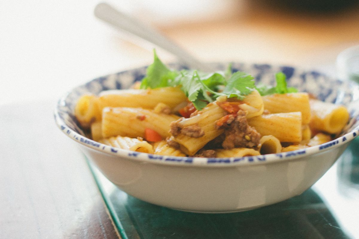 North African Lamb Ragu with Rigatoni