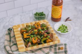 Restaurant Style Chili Paneer Recipe Cover Image