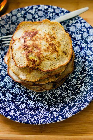 Buckwheat Banana Pancakes