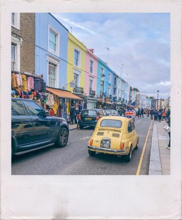 Self Guided Notting Hill Tour & Instagram Guide