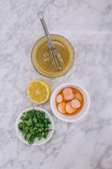 Mediterranean Roasted Acorn Squash Recipe