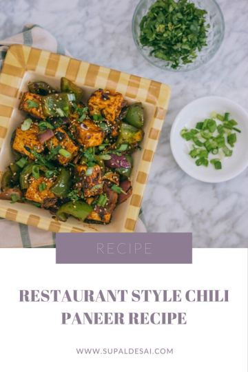 Restaurant Style Chili Paneer Recipe