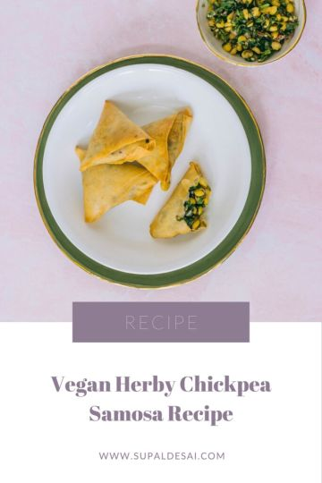 Herby Chickpea Samosas Recipe
