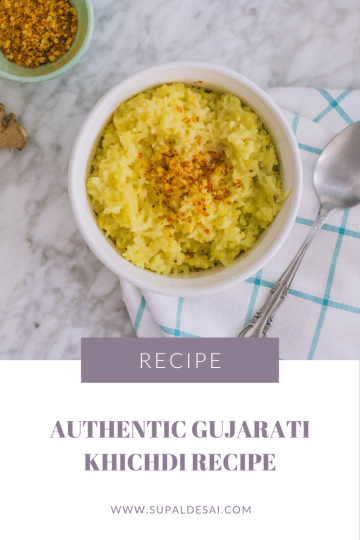 Authentic Gujarati Khichdi Recipe