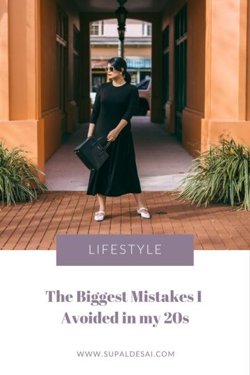 The Biggest Mistakes I Avoided in my Twenties