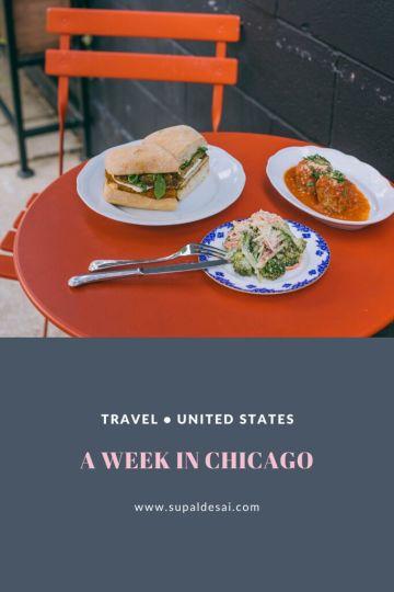 A Week in Chicago