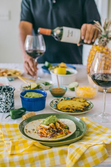 Chipotle Chicken Tacos Recipe & Mexican Food Wine Pairings