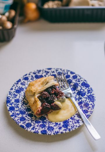 Blackberry & Apple Galette Cover Image