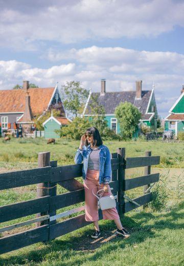 Zaanse Schans: Discover Dutch Windmills Cover Image