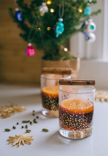 Chai Spiced Mulled Wine Recipe Cover Image