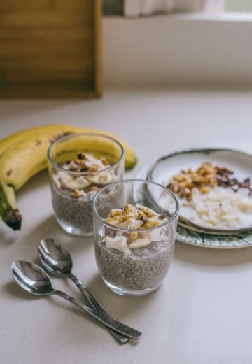 Chunky Monkey Chia Pudding Cover Image