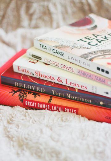 Random Books on My Nightstand Cover Image