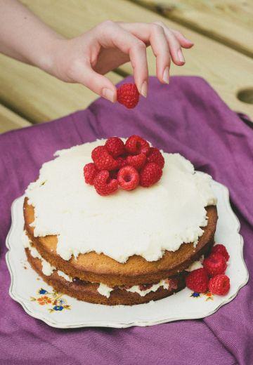 Victorian Sponge Cake Recipe Cover Image