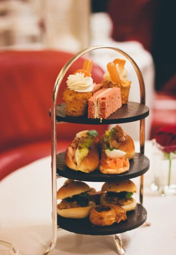 Christmas Afternoon Tea in London Cover Image