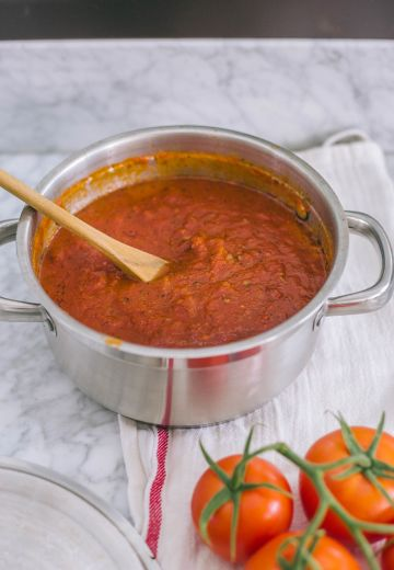 My Marinara Sauce Recipe Cover Image