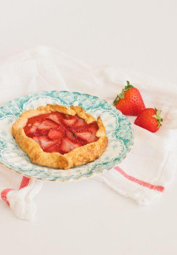Strawberry Hazelnut Galette Cover Image