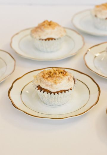 Maple Walnut Eggless Cupcakes Cover Image