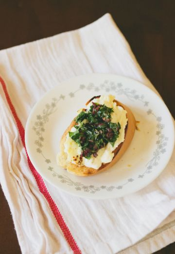 Baked Ricotta with Mediterranean Gremolata Cover Image