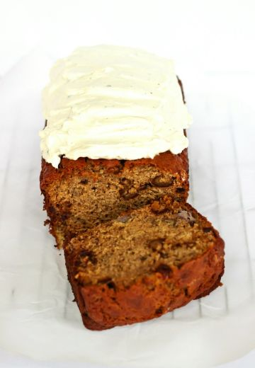 Banana Date Bread with Cardamom Icing Cover Image