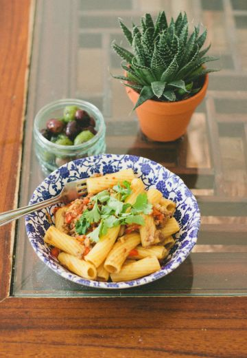 North African Lamb Ragu with Rigatoni Cover Image