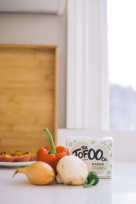 Tofu Akuri & Spiced Grapefruit Punch