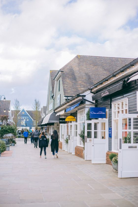 Luxury Shopping Experience at Bicester Village