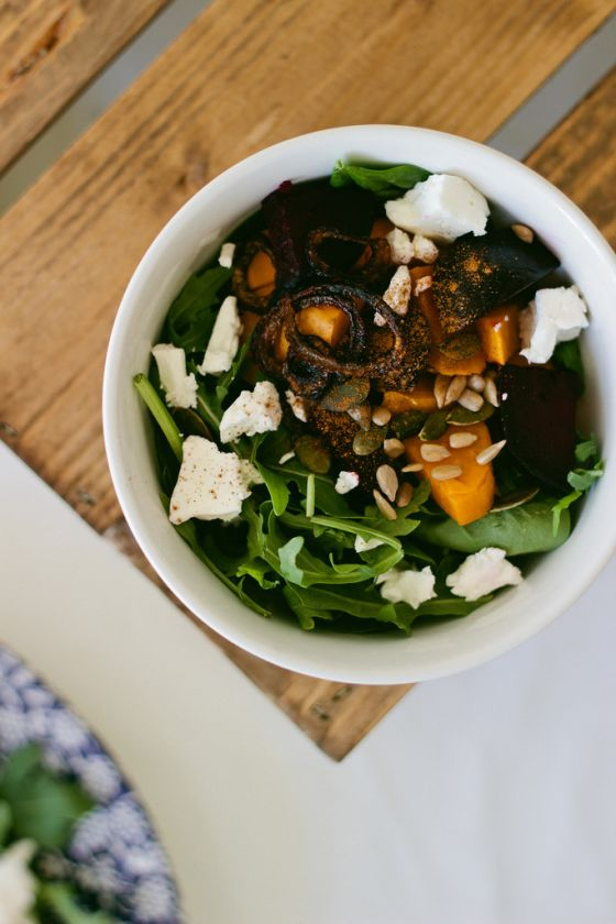 sweet potato power salad