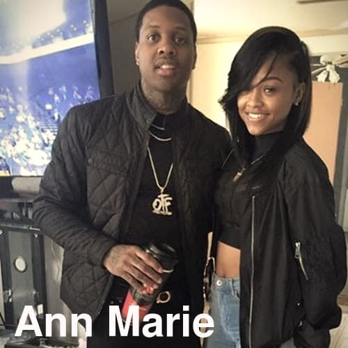 Anne Marie with Lil Durk.