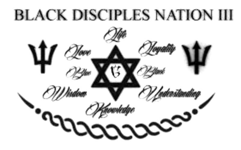 Black Disciples Symbol.