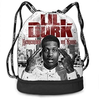 Lil Durk Official Backpack.