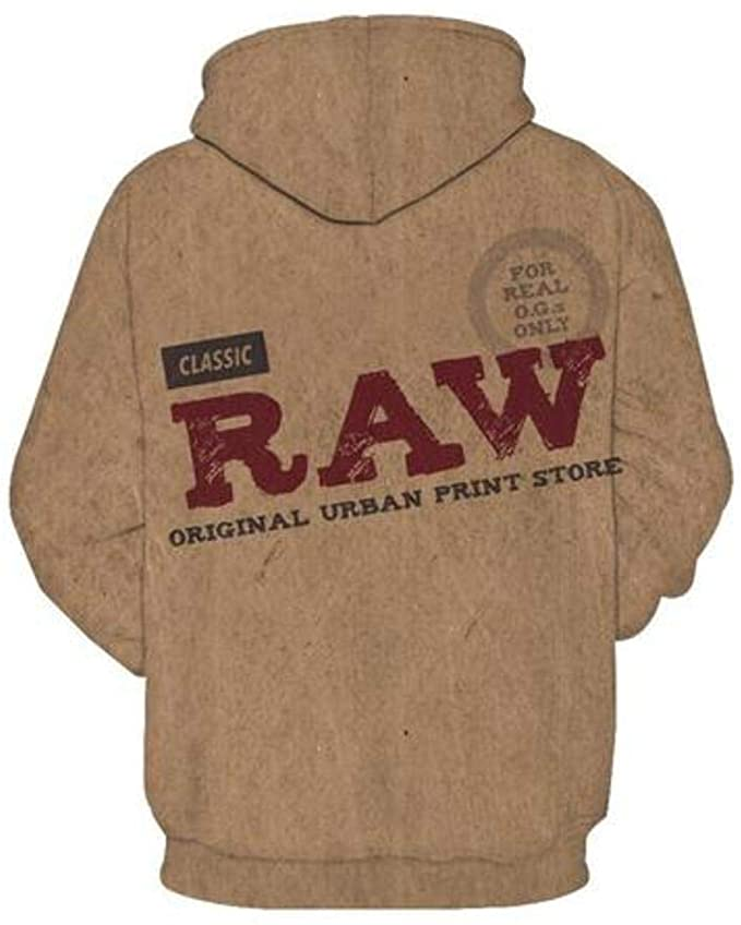 Raw Rolling Papers Hoodie - Back.