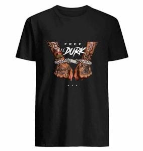 Free Lil Durk Tee.