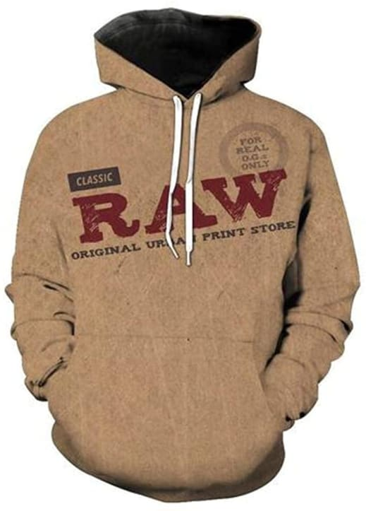 RAW Rolling Papers Hoodie.