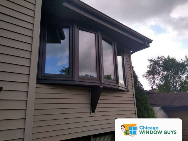 Perfectly Installed Bow Window