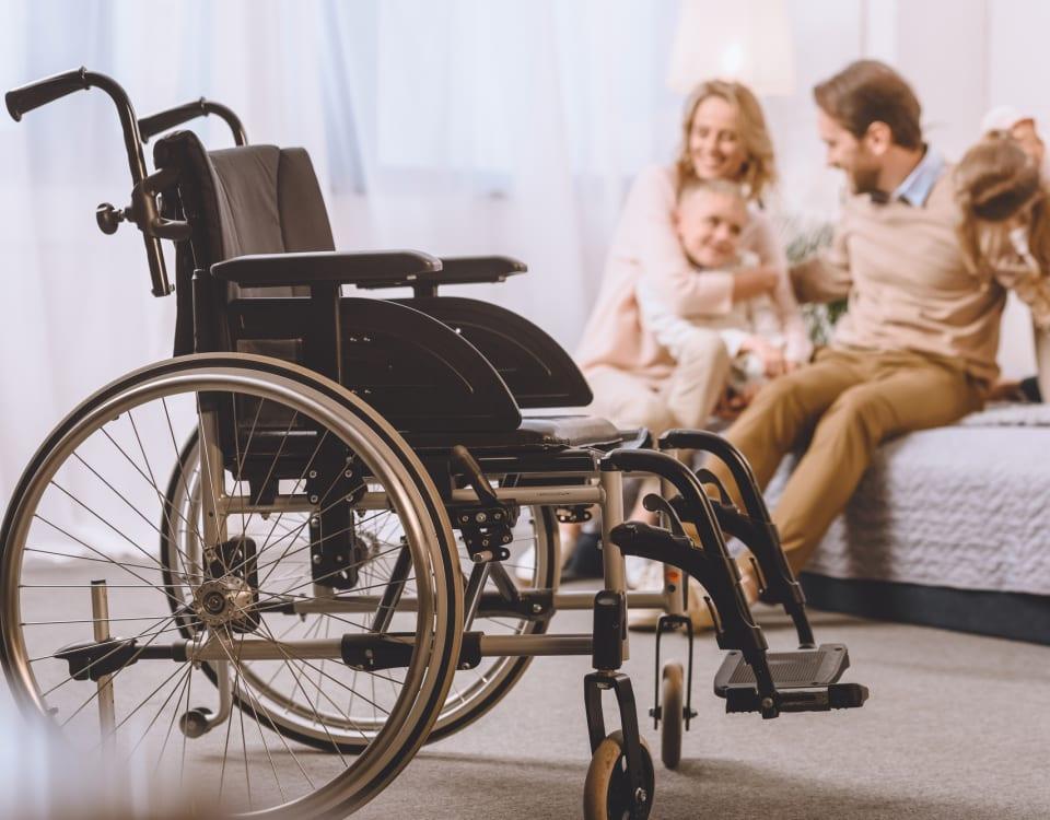 wheelchair accessible door